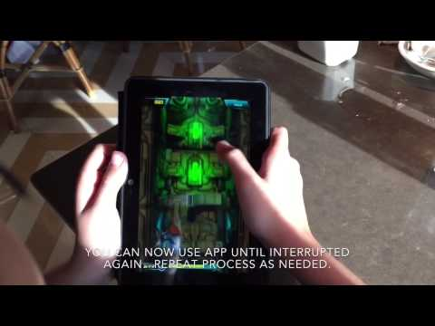 Kindle Fire HDX Freetime Parental Controls Time Limit Hack