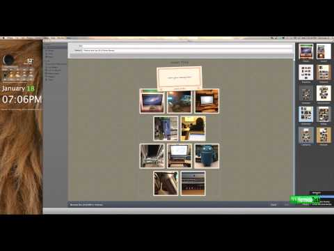 iPhoto 11 Hidden Secrets Tips - Create a Collage and Email - OSX Lion/Snow Leopard [HD]