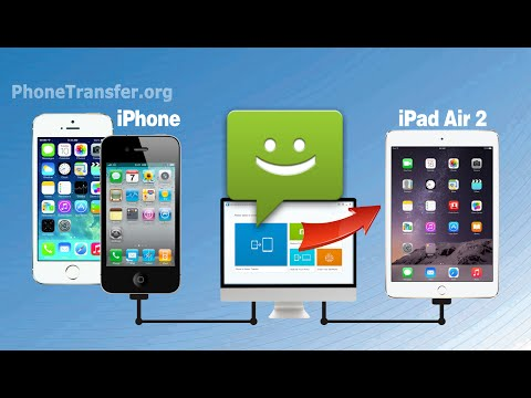 How to Copy SMS from iPhone to iPad Air 2, Sync iMessage from iPhone 6 to iPad Air 2