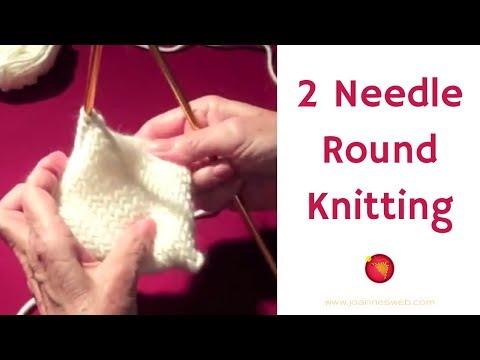 Two Needle Round Knitting