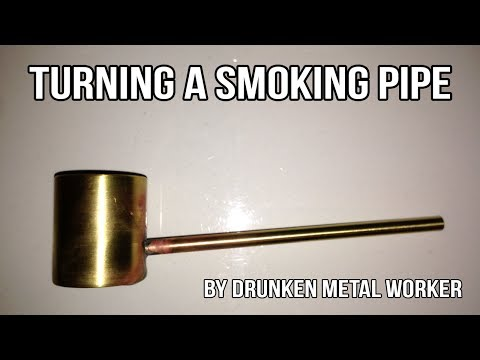 Turning a smoking pipe on my Myford ML7 lathe