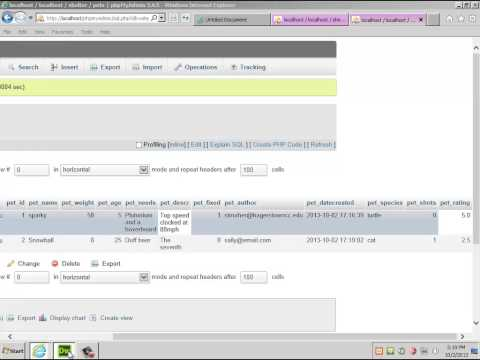 Creating a CMS with Dreamweaver part 3