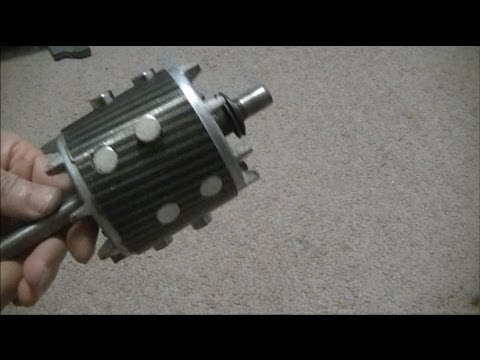 Convert Induction Motor Into A Generator