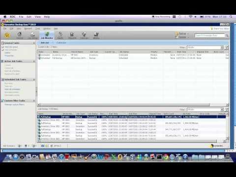 Symantec Backupexec Job Check