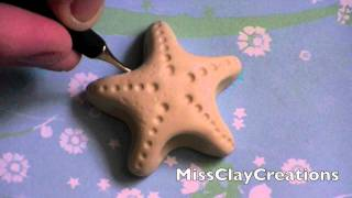 A Clay Starfish Tutorial By Missclaycreations