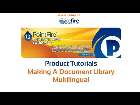 Making a List Multilingual in SharePoint 2013 using PointFire 2013