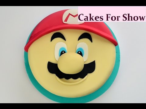 Making a Super Mario Cake