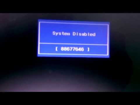 How To Remove BIOS Password Of Laptop Using Backdoor Password