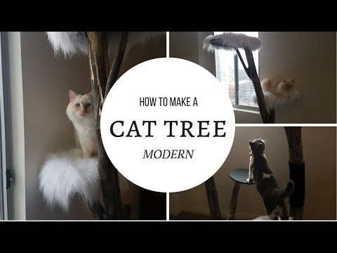 How to make a Modern Cat Tree