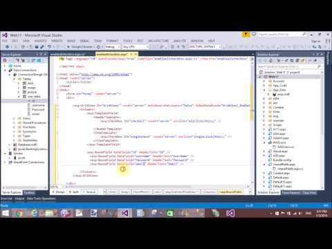 GridView Row color change on mouseover and mouseout in ASP.NET PART 1