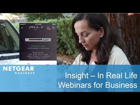 NETGEAR Insight – In Real Life | Business
