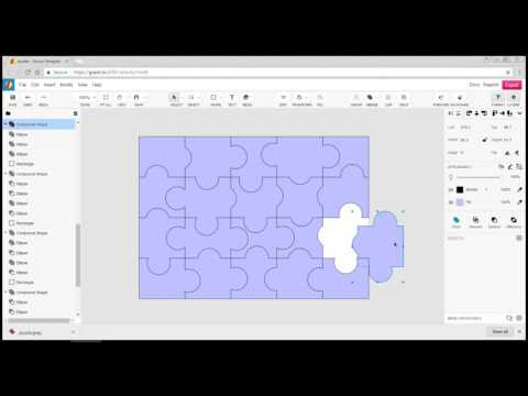 Exporting Your Puzzle for Laser Cutting