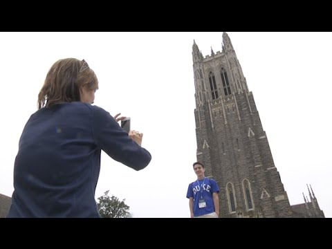 Class of 2019 Explores Duke During Blue Devil Days
