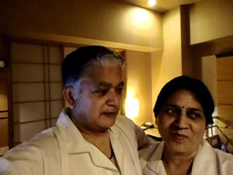 Aruna & Hari Sharma at Hotel Niwa Tokyo October 20, 2011.AVI
