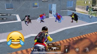 Trolling Blind Noobs 😝😅   PUBG MOBILE FUNNY MOMENTS