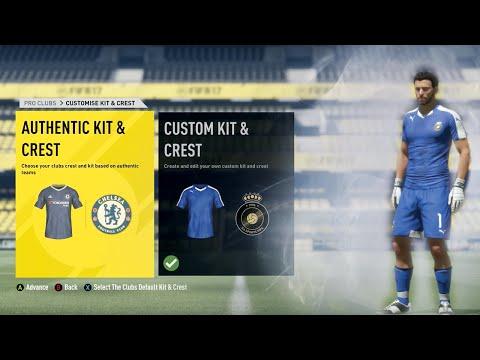FIFA 17 Pro Clubs | NEW Kit & Crest Creator!