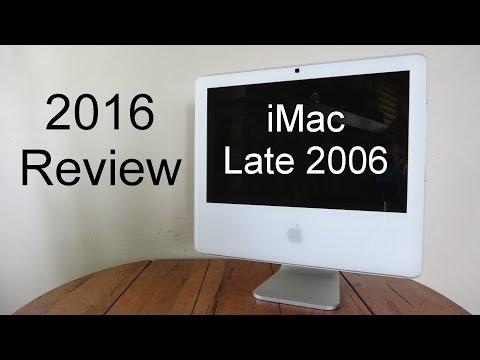 Apple iMac Late 2006 Intel Core 2 Duo (2016 Review)