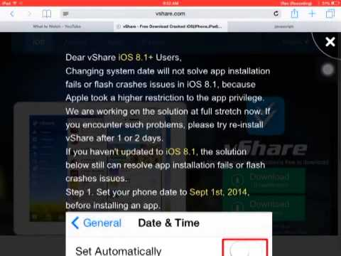 How to get free paid apps on iOS 8.1.1 without jailbreak