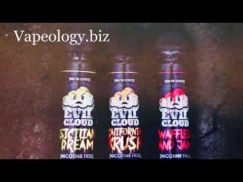 Evil Cloud E-Liquid Line Review (vapeology.biz)