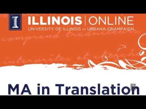 Translation & Interpreting Online MA Program