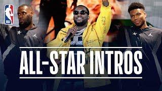 Meek Mill Headlines 2019 NBA All-Star Game Introductions | February 17, 2019