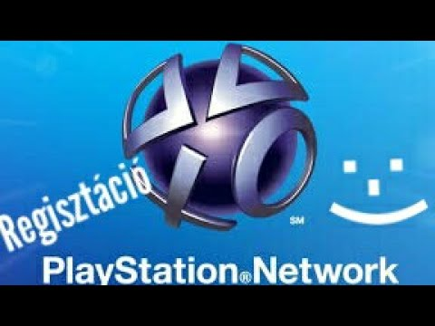 playstation network regisztrálás (tutorial ps3)