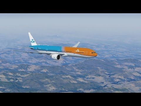 KLM Boeing 777 - Cinematic Flight - Amsterdam to Anchorage - P3D - 25,000 Subscriber Special!