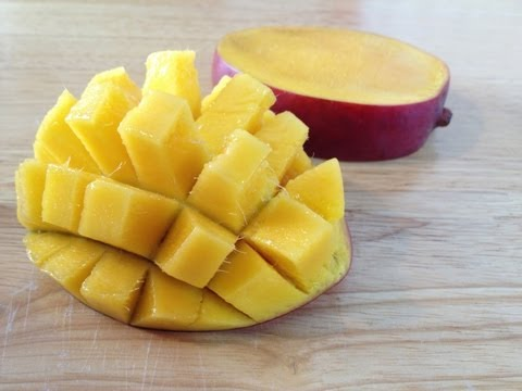 How To Cut A Mango (Easy Way)
