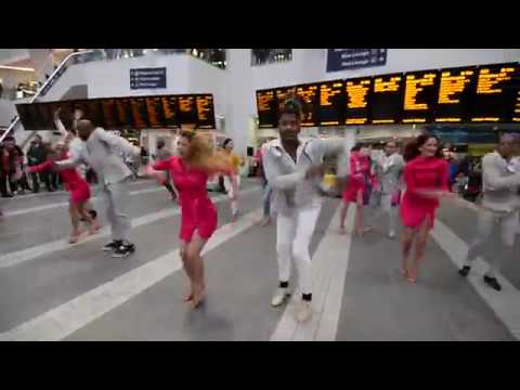 Vamos Cuba! at Birmingham New Street Station - Part 2 (Mambo)