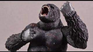 King Kong (2005) S.H. MonsterArts Kong Tamashii Nations Bandai Japan Action Figure Review