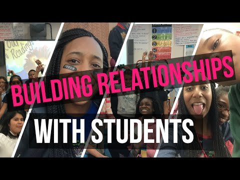 How to Build Relationships with Students in SEVEN Simple Ways! // Miss Tierraney