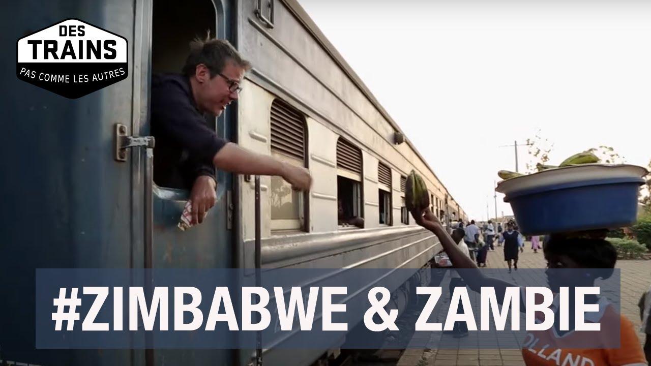 Zimbabwe, Zambie - Des trains pas comme les autres - Victoria -  Royal Livingstone Express