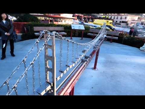 Swinging Golden Gate Bridge