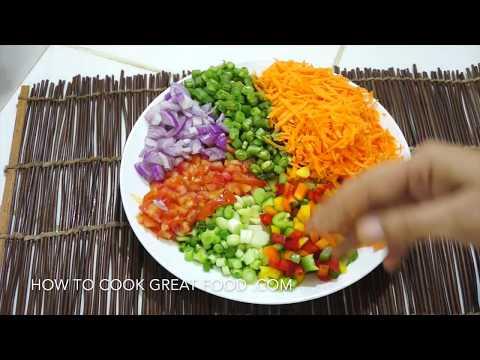 Easy Mixed Bean Salad Recipe - Vegan healthy Simple