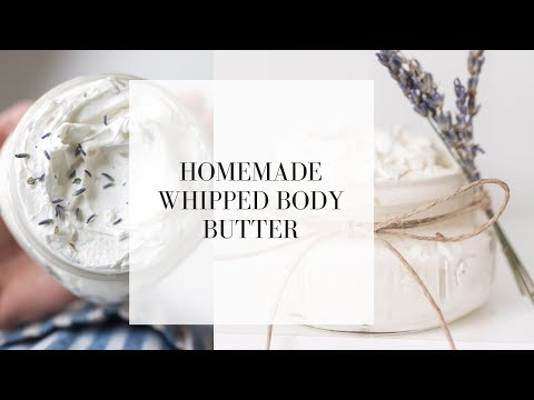 DIY All Natural Body Butter Recipe with Free Printable Label