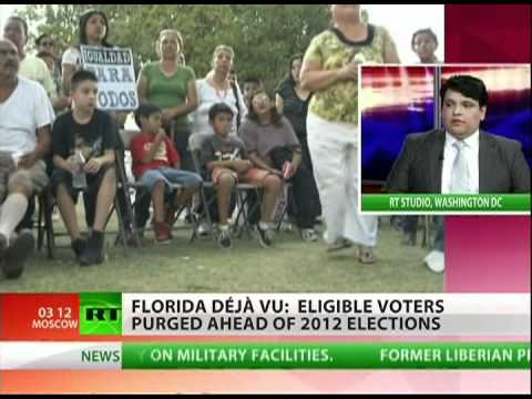 Florida to suppress the vote?