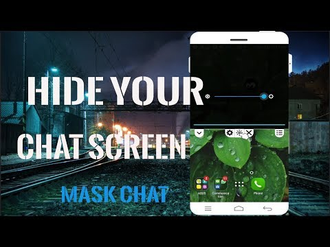 How to Hide Chat screen |Mask Chat App Review