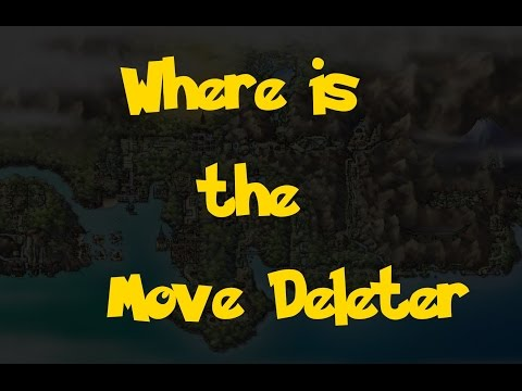 Where Is: The Move Deleter (Pokemon Heart Gold/Soul Silver)