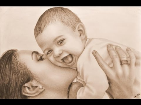 Mother's Day : I Love My Mom, A message to all mothers.