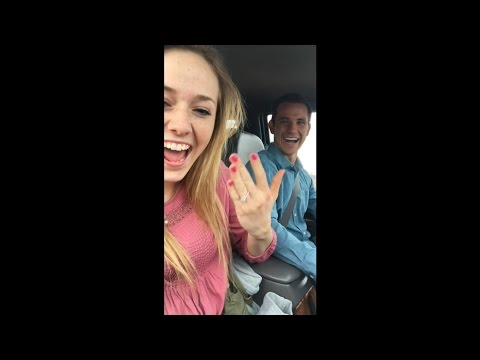 She Filmed Her Own Proposal And Didn't Even Know It!