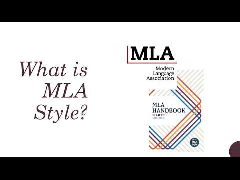 IUP MLA Style for Research Papers