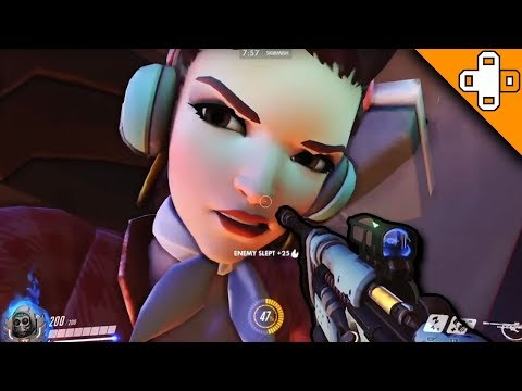 GIANT D.VA?! WTF?! - Overwatch Funny & Epic Moments 254 - Highlights Montage