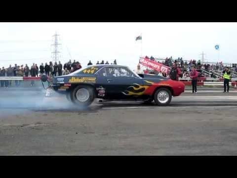 York Raceway 21/9/14 Burnouts etc.