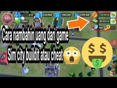Cara nambahin uang dari game sim city buildit atau cheat tanpa root