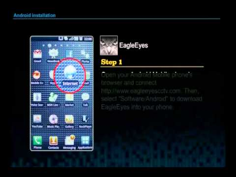 EagleEyes AVTECH Android phone EagleEyes installation