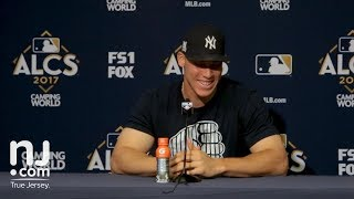 Aaron Judge on winning game 4 of the ALCS at home