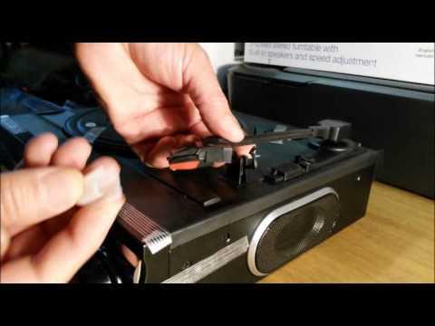 Replacing the needle in Jensen JTA-230 turntable