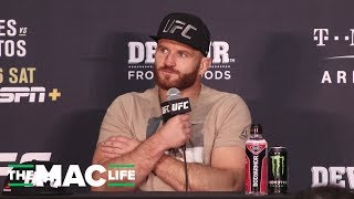 Jan Blachowicz reacts to KO win over Luke Rockhold: 'I saw this left hook in my dreams'