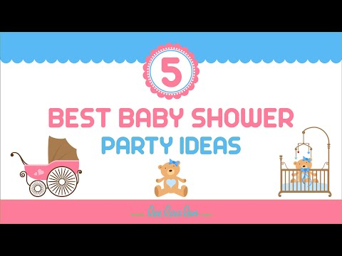 5 Best Baby Shower Party Ideas