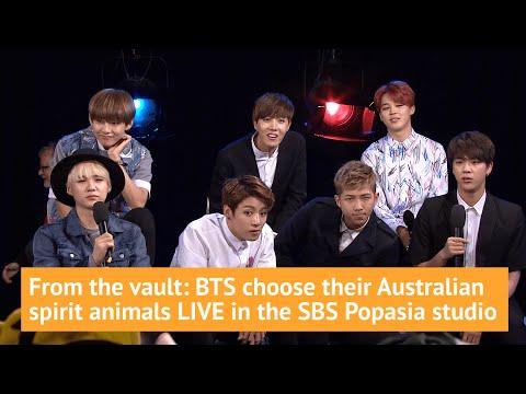 BTS choose their Australian spirit animal